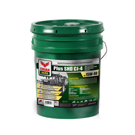 TRIAX Agra Plus SHD - 15W40 Pail Lower Rez