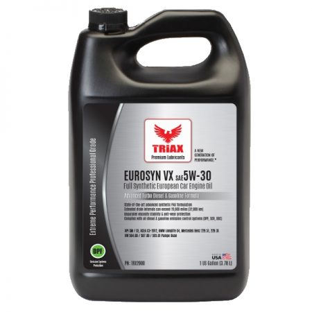 TRIAX Eurosyn VX 5W-30 - 1 gal - Jan 2016