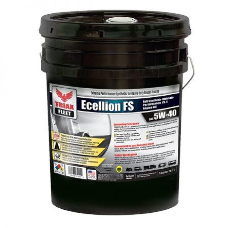 triax fleet ecellion 5W-40 pail - png - web